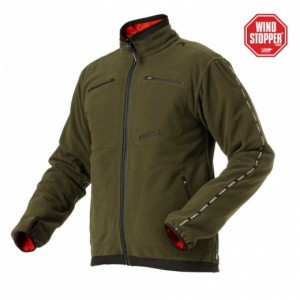 harkila kalmar fleece jacket vendbar - medium